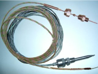 high speed K-Thermocouple, 2mm vs the 6mm conical