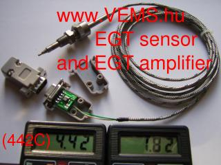 EGT amplifier (DSUB9)