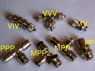 Pneumatic connector